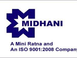 Jobs in MIDHANI