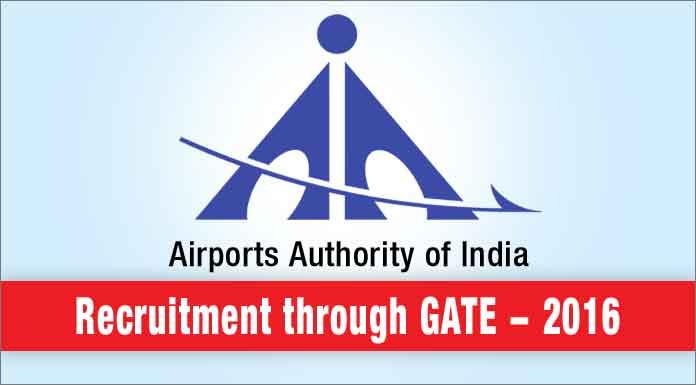 AAI Recruitment through GATE 2016