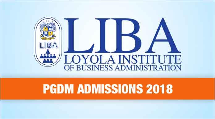 liba pgdm admissions 2018