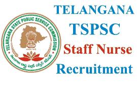 TSPSC Recruitment 1196 Staff Nurse Vacancies