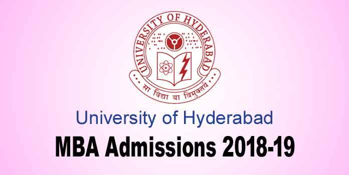 University of Hyderabad MBA admissions