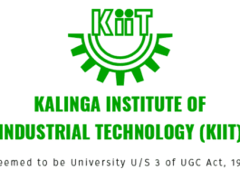 KIIT University admissions 2018