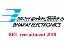 BEL recruitment 2018 apply online 26 Engineer posts