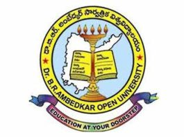 DR BR Ambedkar Open University UG Admission 2018