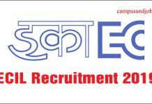 ECIL hyderabad Recruitment 2019 for Apprentice / Technical Officer