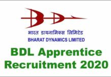 BDL Apprentice Recruitment 2020