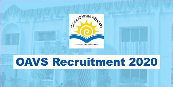 OAVS Recruitment 2020