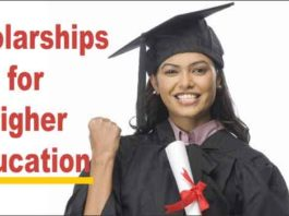 Central government scholarships for higher education