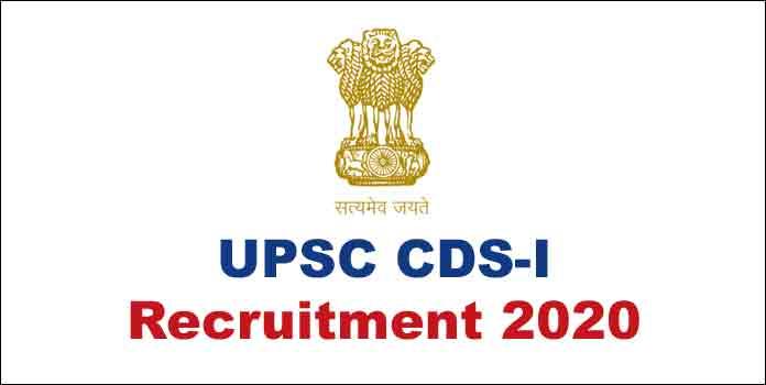 UPSC CDS-I Recruitment 2020