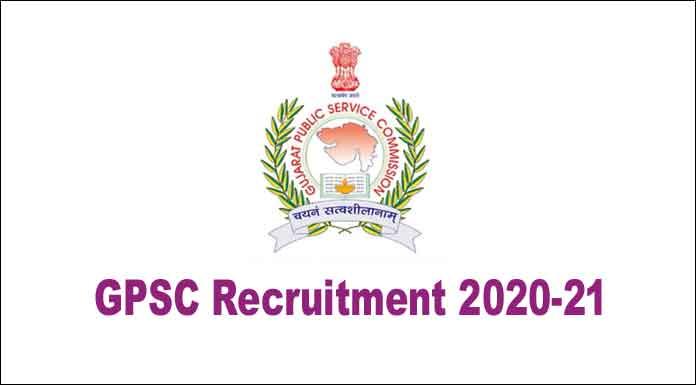 GPSC Recruitment 2020-21