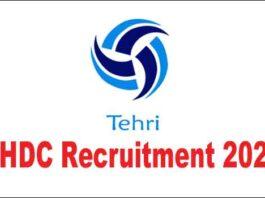 THDC Tehri Recruitment 2020
