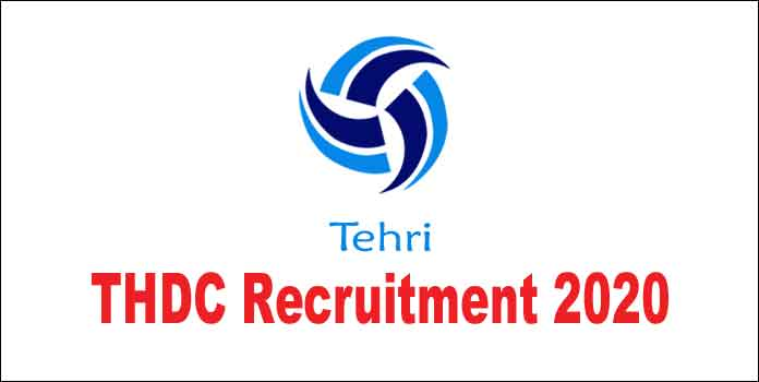 THDC Tehri Recruitment 2020