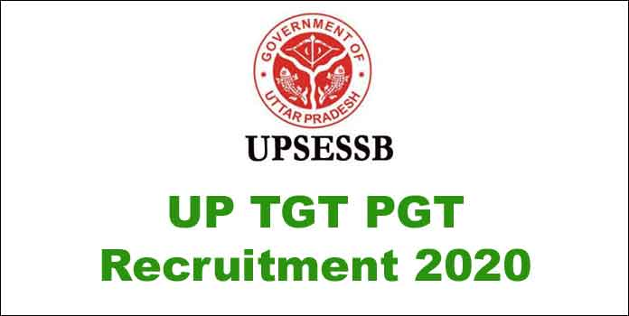 UP TGT PGT Recruitment 2020