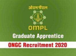 ONGC Recruitment 2020