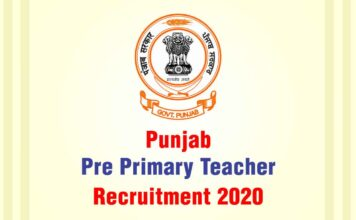 Punjab Primary Teacher Recruitment 2020
